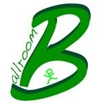 Ballroom Handwritten Green