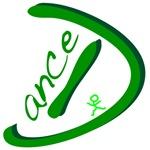 Dance Handwritten Green