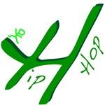 Hip Hop Handwritten Green