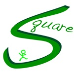 Square Dance Handwritten Green