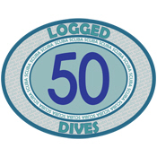 50 Logged Dives