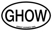 GHOW Great Horned Owl Alpha Code