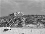 Cape Cod Beach House (b&w)