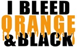I Bleed Orange & Black
