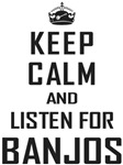 Keep Calm Banjos