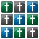 Colorful Christian Crosses