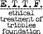 ethical treatment of tribbles