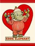 Eddie Elephant VALENTINES