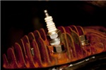 Sparkplug and Rusty Cooling Fins