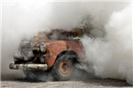 Burnout Pit Smoke Truck