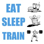EAT SLEEP TRAIN