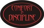 comfort in discipline