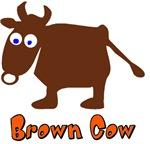 Cute Brown Cow