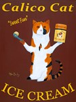 Calico Cat Ice Cream