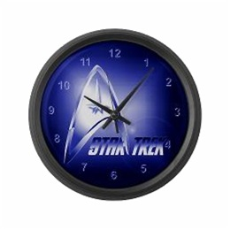 Star Trek Clocks
