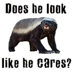 Honey Badger - Does he look like he cares?
