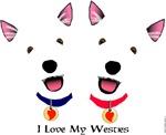 Westie Love X 2