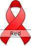 Red Ribbon for Stroke Awareness