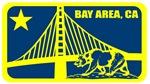Major league Bay Area Orange Blue and Gold