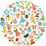 Christmas Ornament Element Icon