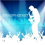 Saxophonist Equalizer Bg