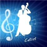 Treble Clef Cellist