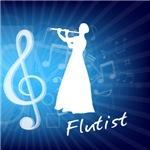 Treble Clef Flutist
