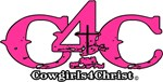 Cowgirl 4 Christ C4C  Pink Logo