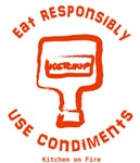 Eat Responsibly Orange