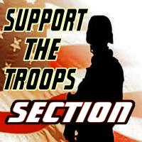 SUPPORT THE TROOPS SECTION