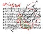 Make a Joyful Noise... Bagpipe Design