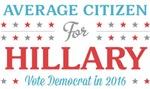 Average Citizen for Hillary