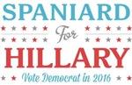 Spaniard for Hillary