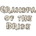 Country Wedding Grandpa of the Bride