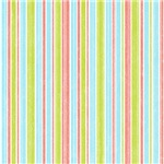 Pink, Blue, and Green Mod Stripes