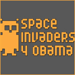 Space Invaders 4 Obama