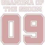Uniform Grandma of the Groom 09 T-Shirts