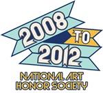 2008 to 2012 National Art Honor Society
