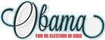Retro Halftone Re-Elect Obama T-Shirts