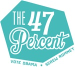The 47 Percent Anti Romney Shirts