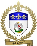 ST. COEUR Family Crest