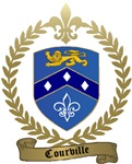 COURVILLE Family Crest