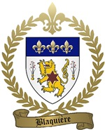 BLAQUIERE Family Crest