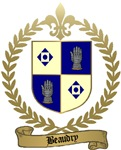 BEAUDRY Family Crest