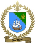 BORDELEAU Family Crest