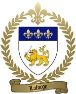 LAFORGE Family Crest
