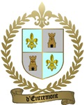 d'ENTREMONT Family Crest