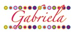 Gabriela with Flowers