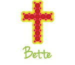 Bette Bubble Cross