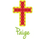 Paige Bubble Cross